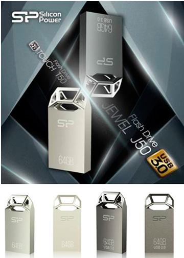 Touch T50 и Jewel J50 от Silicon Power: уникальный дизайн с объемной гравировкой